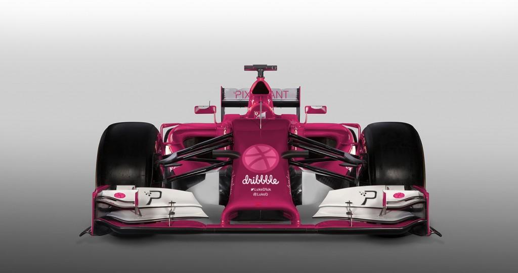formula dribbble f1 car