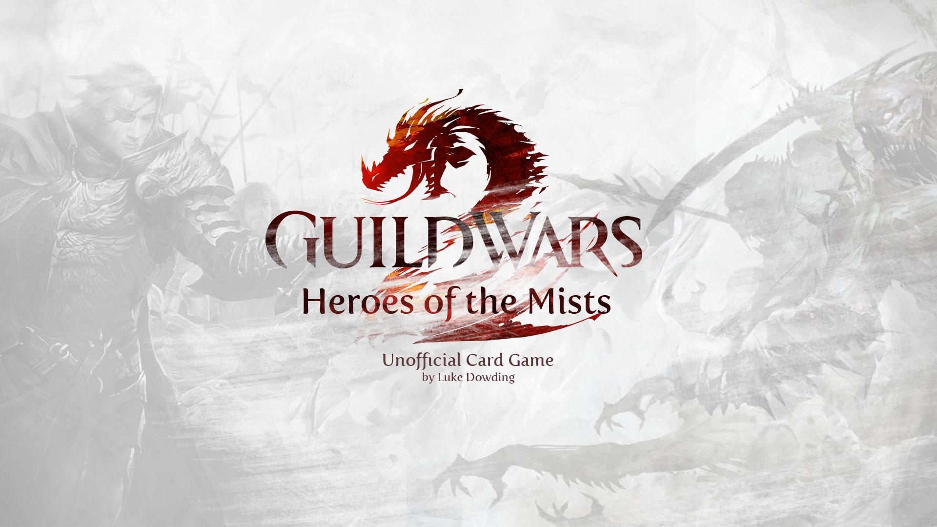 Guild Wars 2 Card Game Luke Dowding