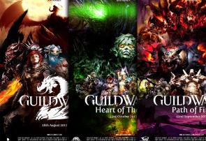 Guild Wars 2 Movie Poster Trilogy