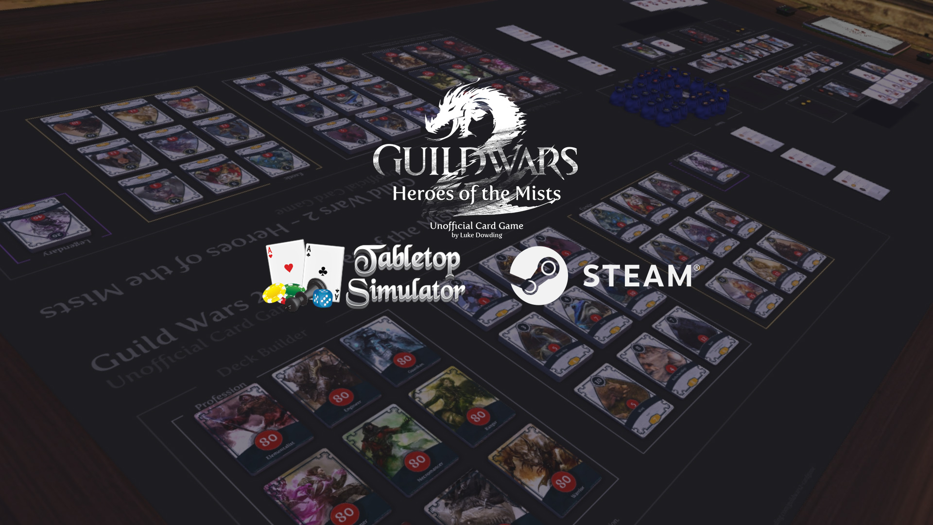 Guild wars 2 Tabletop simulator