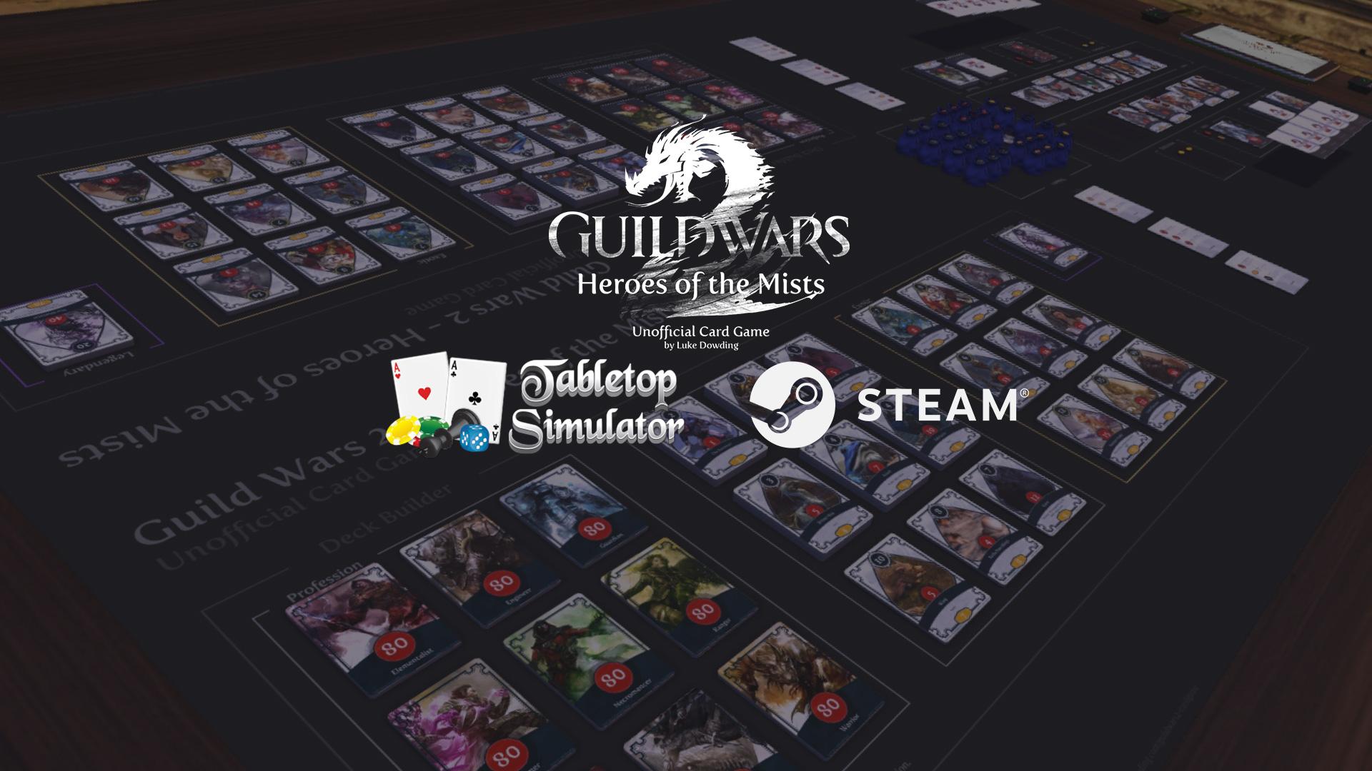 Guild wars 2 Tabletop simulator