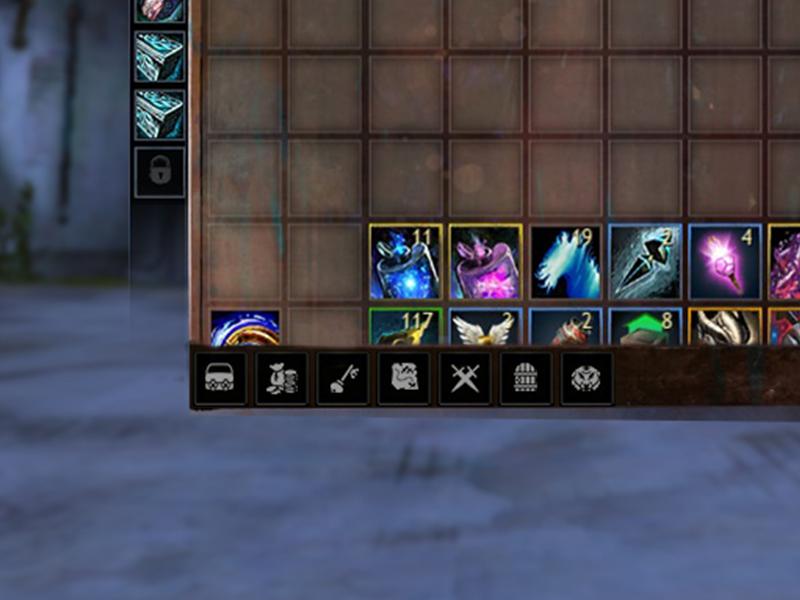 game inventory ux ui improvement