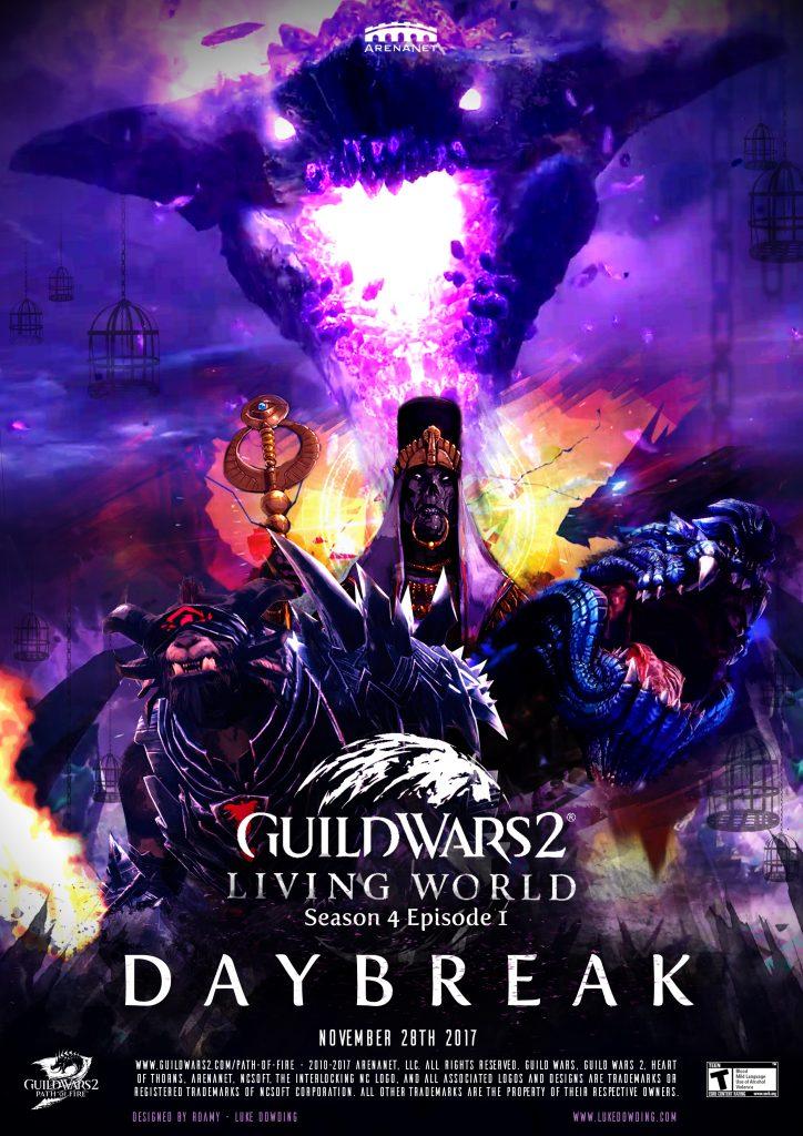 Guild Wars 2 Living World Season 4 Episode 1 Movie Poster