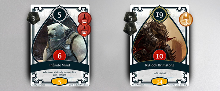 guild wars 2 tokens card game