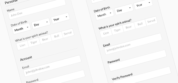 usability long forms