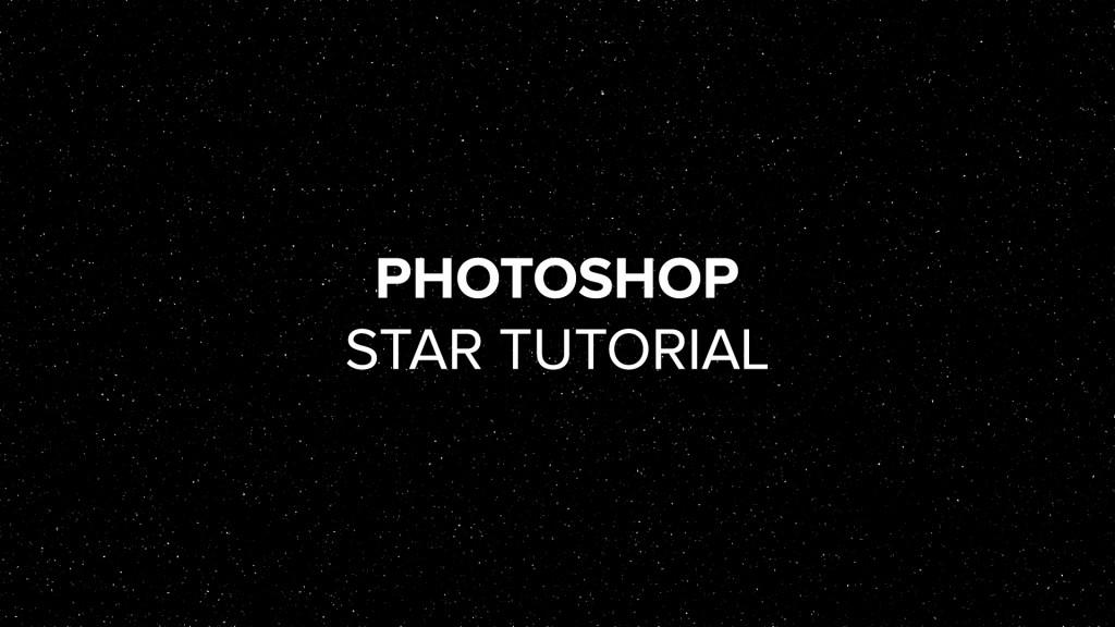 photoshop star tutorial